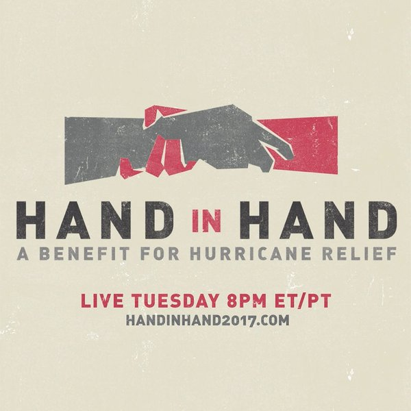 Dave al Hand In Hand – A Benefit For Hurricane Relief